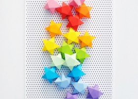Xếp ngôi sao may mắn Origami