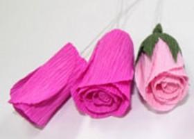 Cách làm hoa hồng bằng giấy cực nhanh và đơn giản