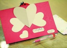 Cách làm thiệp handmade trái tim đẹp