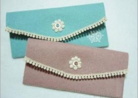 Hướng dẫn làm ví cầm tay bằng vải nỉ