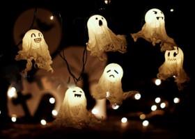 Cách làm bóng ma ngộ nghĩnh trang trí halloween