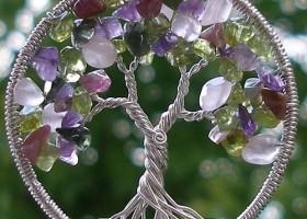 Cách làm tree of life handmade – Vòng dây chuyền thiêng liêng