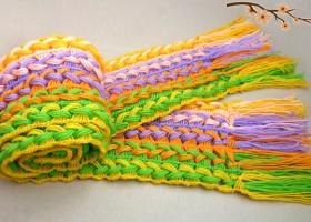 Học cách móc khăn len đơn giản cho ngày đông