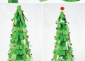 Bộ sưu tập những mẫu cây thông noel đơn giản bạn có thể làm ngay
