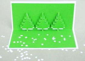 Tổng hợp những mẫu thiệp nổi cực đẹp mùa giáng sinh
