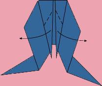 cach gap ca vang origami 7