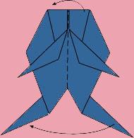 cach gap ca vang origami 8