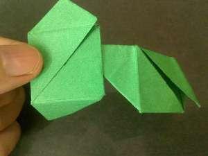 cach gap hoa hong origami 11