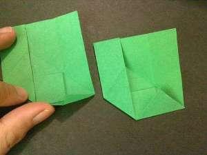 cach gap hoa hong origami 9