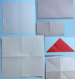 Cách gấp nơ từ giấy 1