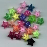 cách làm ngôi sao bằng ống hút