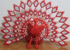 Làm công 19 đuôi Origami