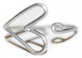 Tự chế chiếc nhẫn trái tim từ sợi thép cực ju