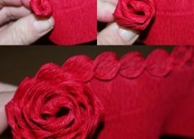 Cách cuốn hoa hồng bằng giấy cực kỳ đơn giản