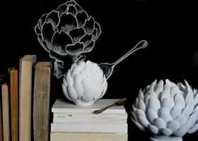 Cách làm bình hoa sen từ thìa nhựa