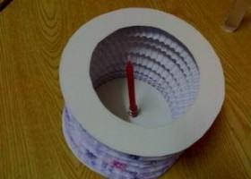 Làm lồng đèn bằng giấy đón trung thu