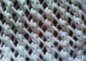 Cách đan khăn len kiểu móc xích