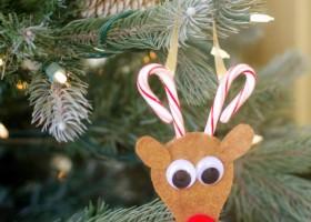 Làm đồ handmade nhỏ xinh trang trí cây thông noel
