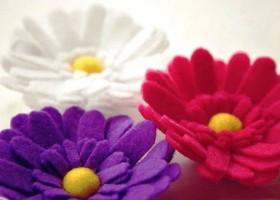 Đón tết cùng hoa handmade rực rỡ
