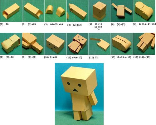 hướng dẫn cách làm danbo giấy