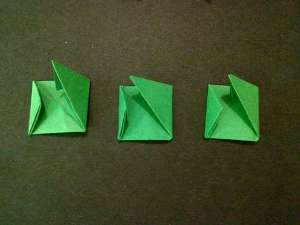 cach gap hoa hong origami 10