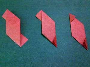 cach gap hoa hong origami 6