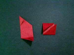 cach gap hoa hong origami 7