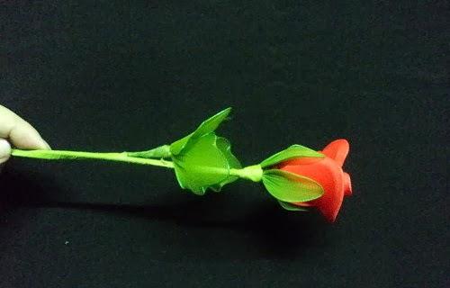 hướng dẫn cách làm hoa hồng từ vải voan