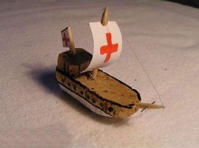 làm thuyền trong chai