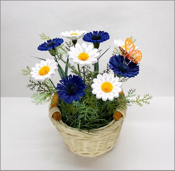 cach lam hoa cuc tu giay quiling 7