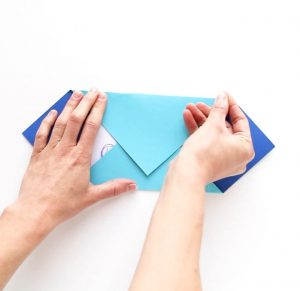 cách gấp phong bì đơn giản độc lạ bằng bìa giấy