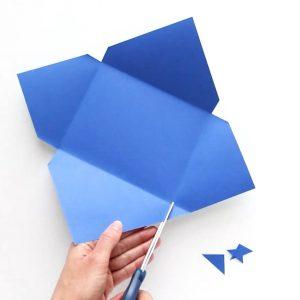 gấp phong bì đơn giản độc lạ bằng bìa giấy