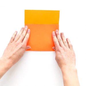 gấp phong bì đơn giản độc lạ bằng bìa giấy handmade