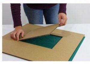 Cách làm ngôi nhà bằng carton