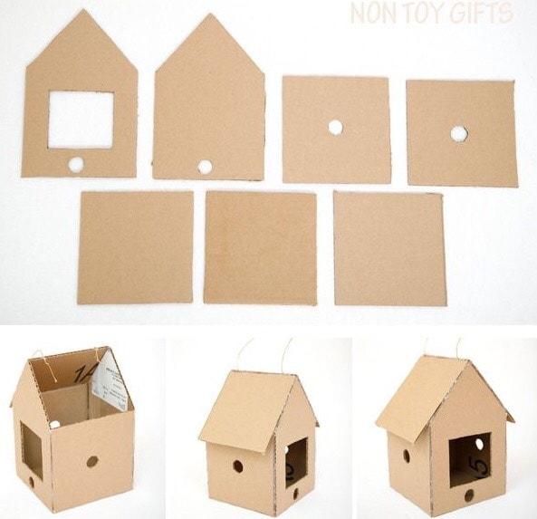 ngôi nhà bằng carton