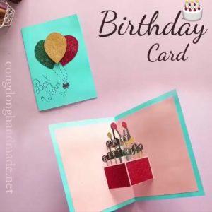 thiệp chúc mừng sinh nhật