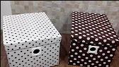 Cách làm hộp đựng đồ