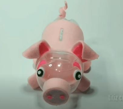 Cách làm ống heo tiết kiệm