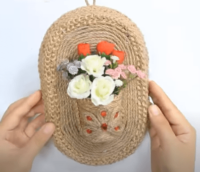 trang trí tường bằng đồ handmade